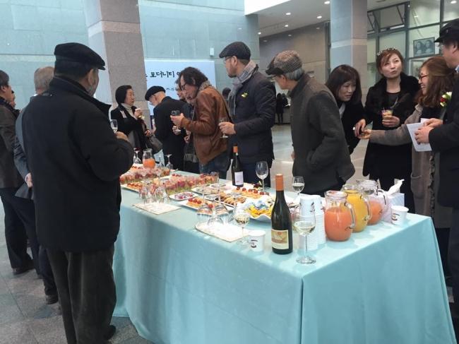 전북미술 모더니티 역사전 개막식