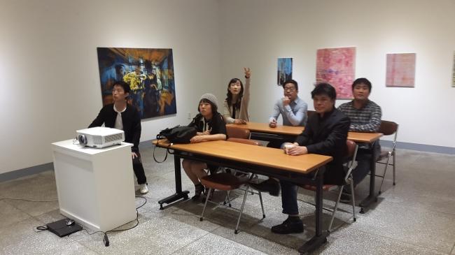 전북도립미술관 창작스튜디오 입주미술가 프로그램 - <비평가와의 대담>