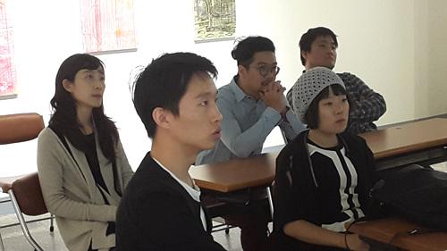 전북도립미술관 창작스튜디오> 창작스튜디오 입주미술가와의 면담