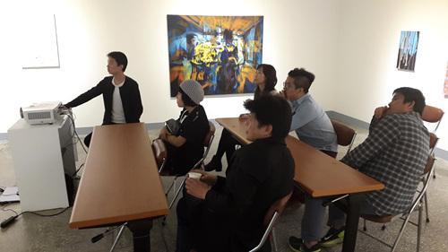 전북도립미술관 창작스튜디오> 창작스튜디오 입주미술가 프로그램 : <비평가와의 대담>